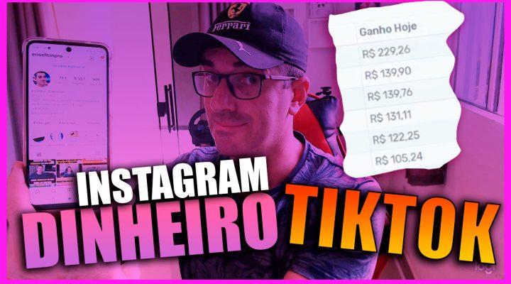[ Revelado ] Como Ganhar dinheiro no Instagram e Tiktok Apenas seguindo pessoas