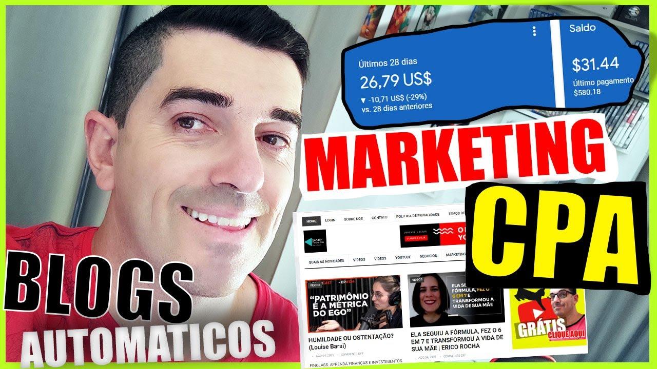 Marketing CPA Como Ganhar dinheiro com Blogs em marketing cpa
